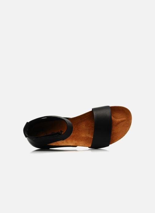 Sandalen Art Creta 440 schwarz ansicht von links