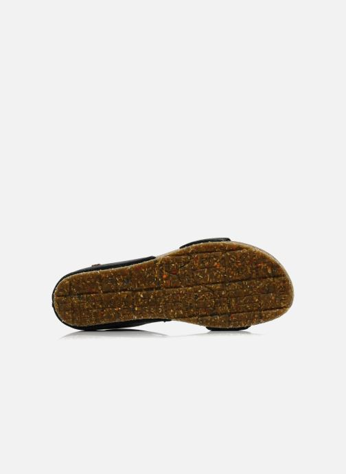 Sandales et nu-pieds Art Creta 440 Noir vue haut