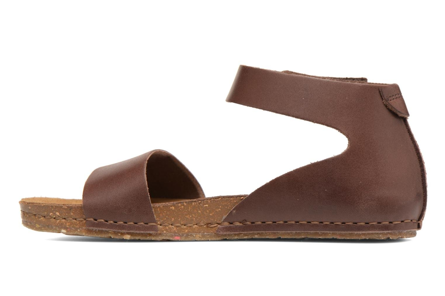 Sandals Art Creta 440 Brown front view