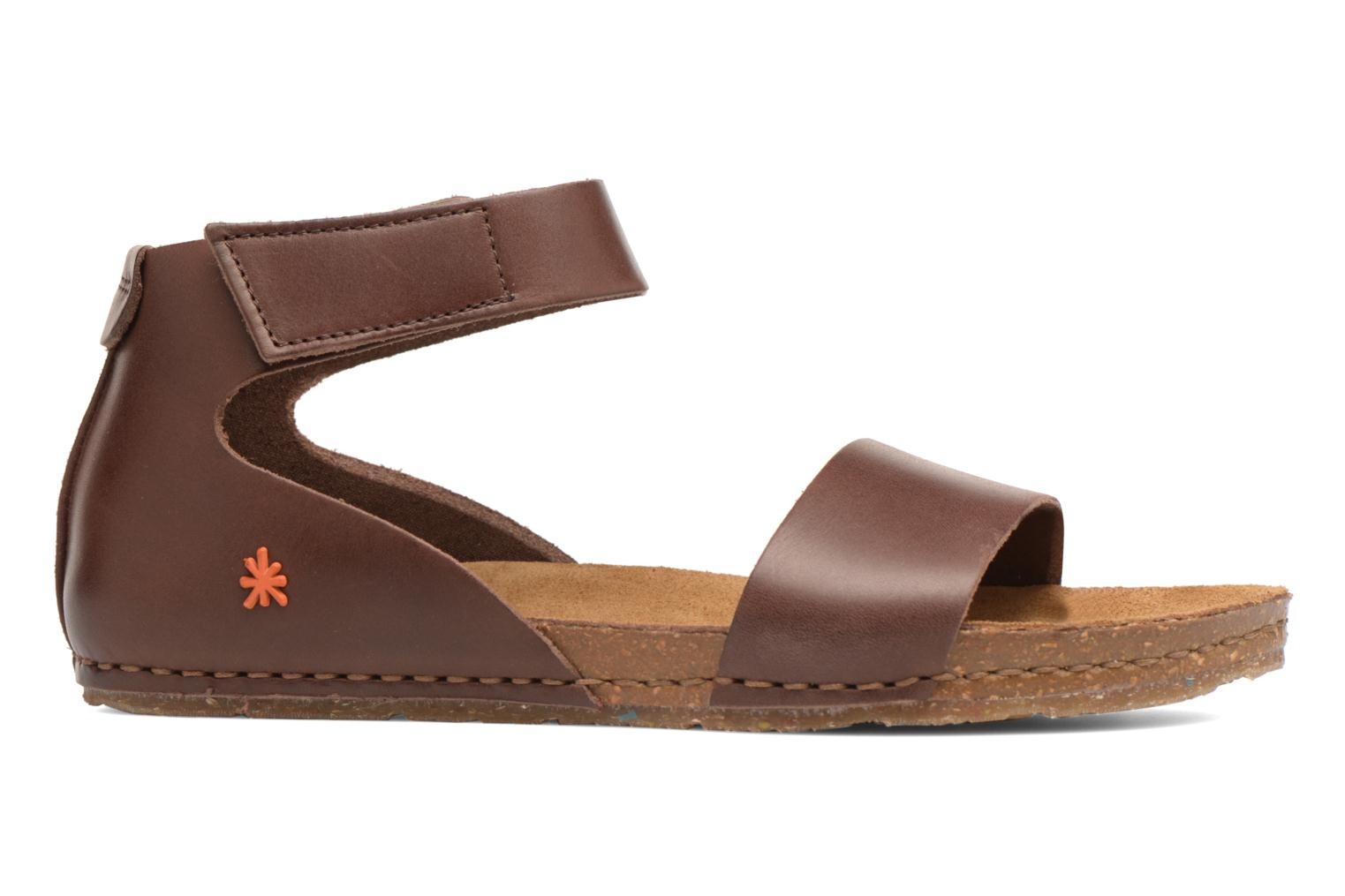 Sandals Art Creta 440 Brown back view