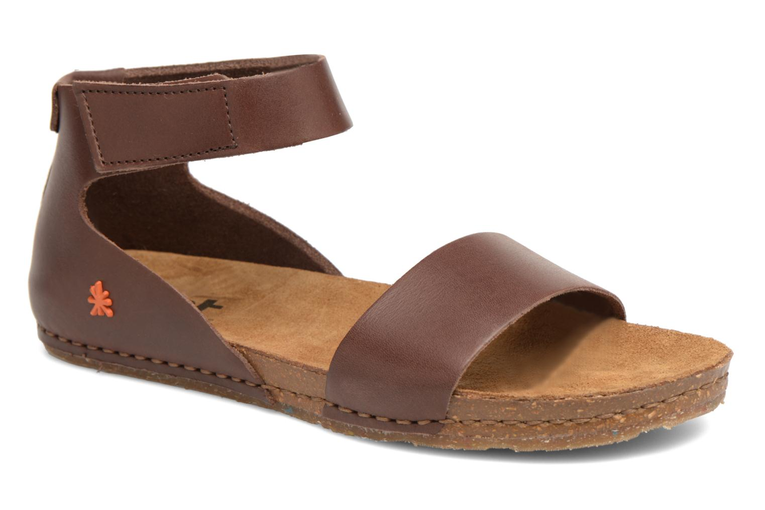 Sandals Art Creta 440 Brown detailed view/ Pair view