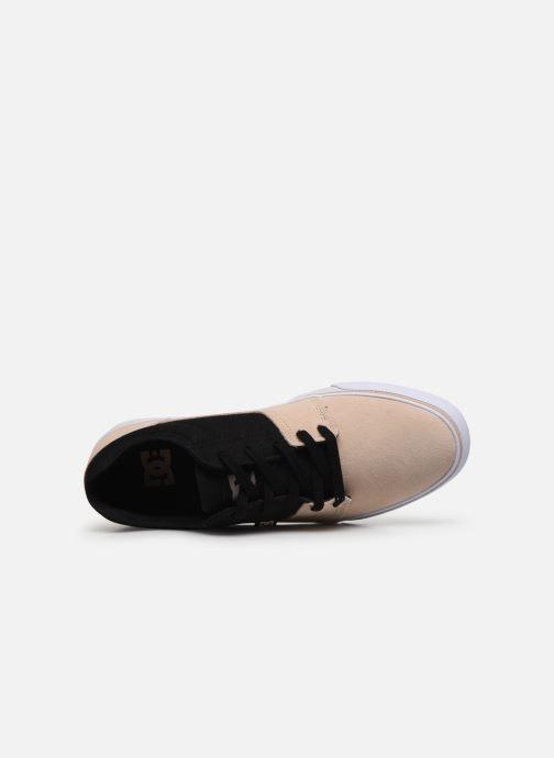 Zapatillas de deporte DC Shoes Tonik Beige vista lateral izquierda