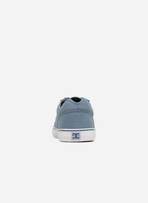 Deportivas DC Shoes Tonik TX Azul vista lateral derecha