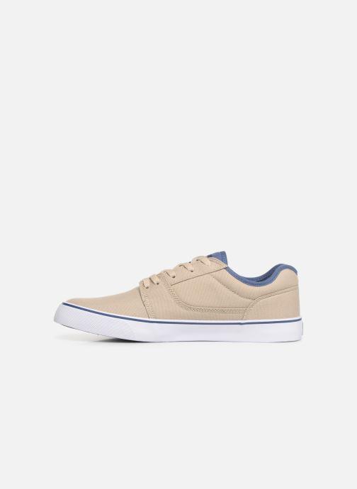 Baskets DC Shoes Tonik TX Beige vue face