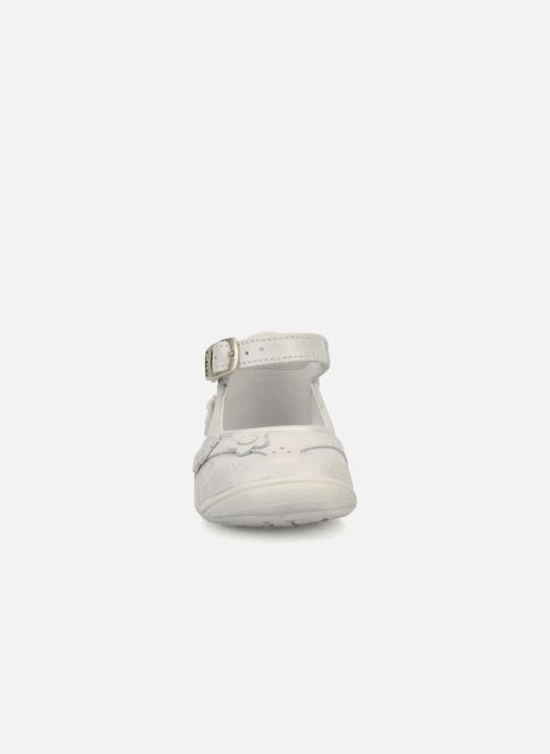 Ballerines GBB Baby girl 102 Argent vue portées chaussures
