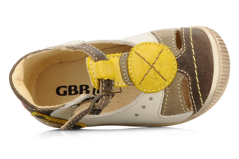 Bottines et boots GBB Babyboy 157 Beige vue gauche
