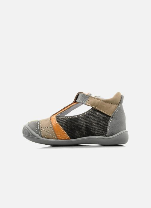 Ankle boots GBB Babyboy 151 Grey front view