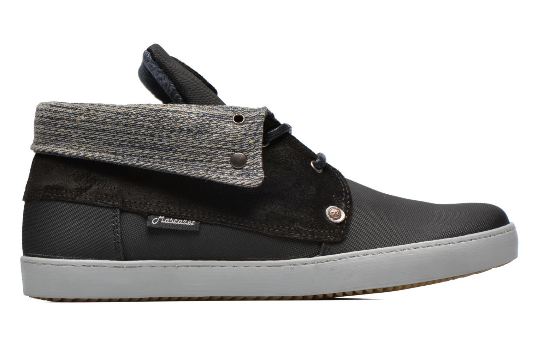Chaussures à lacets Mascaret Panisse Noir vue derrière