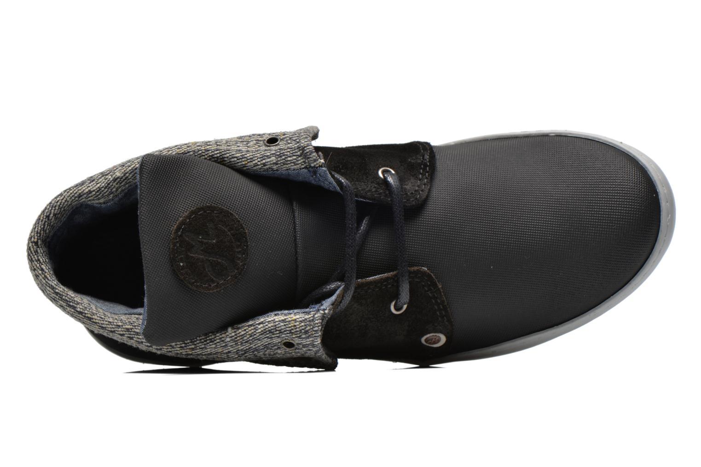 Chaussures à lacets Mascaret Panisse Noir vue gauche