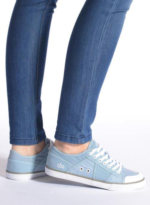 Sneakers TBS Violay Nero immagine dal basso