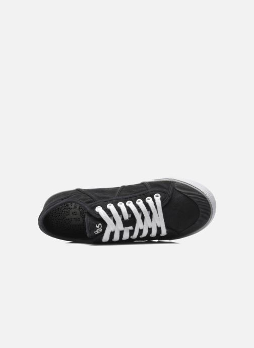 Trainers TBS Violay Black view from the left