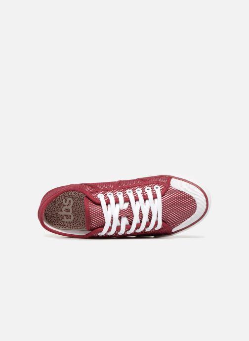 Sneaker TBS Violay rot ansicht von links