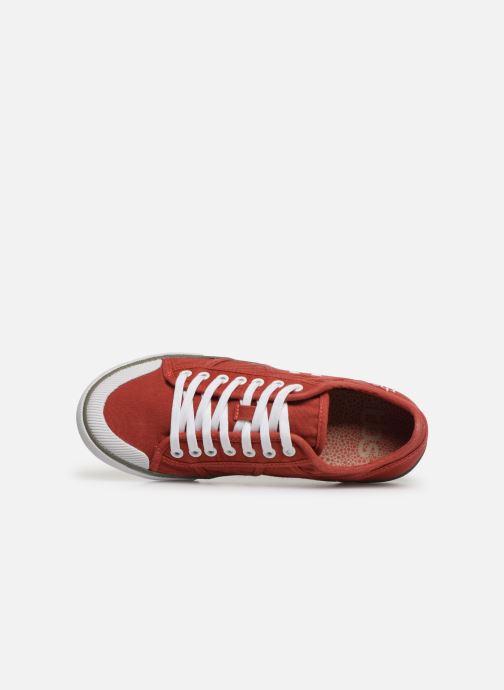 Sneakers TBS Violay Rød se fra venstre