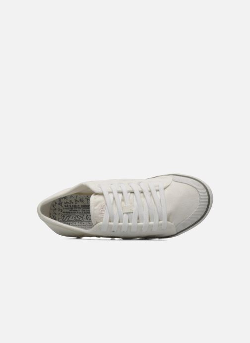 Sneakers TBS Violay Bianco immagine sinistra