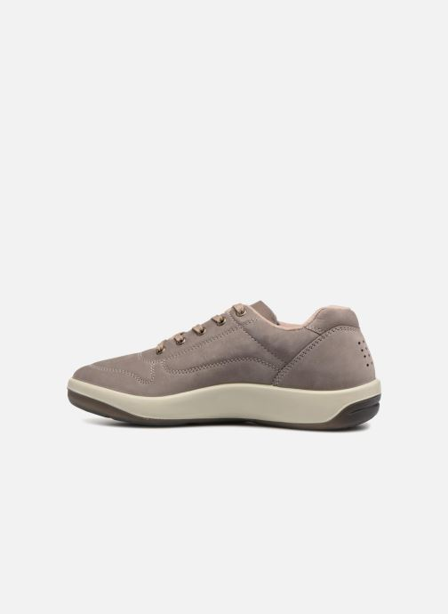 Sneakers TBS Made in France Albana Grigio immagine frontale