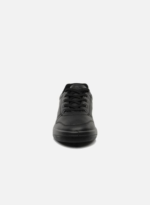 Sneakers TBS Made in France Albana Nero modello indossato