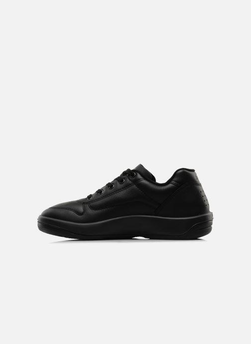 Sneaker TBS Made in France Albana schwarz ansicht von vorne