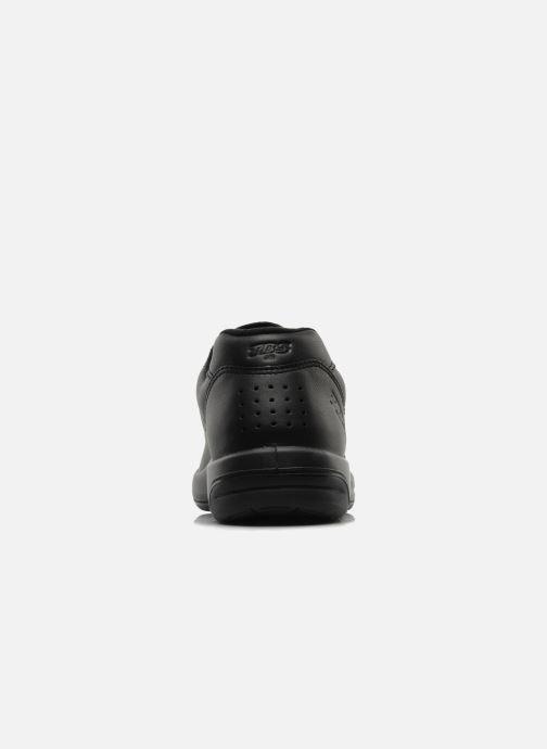 Sneaker TBS Made in France Albana schwarz ansicht von rechts