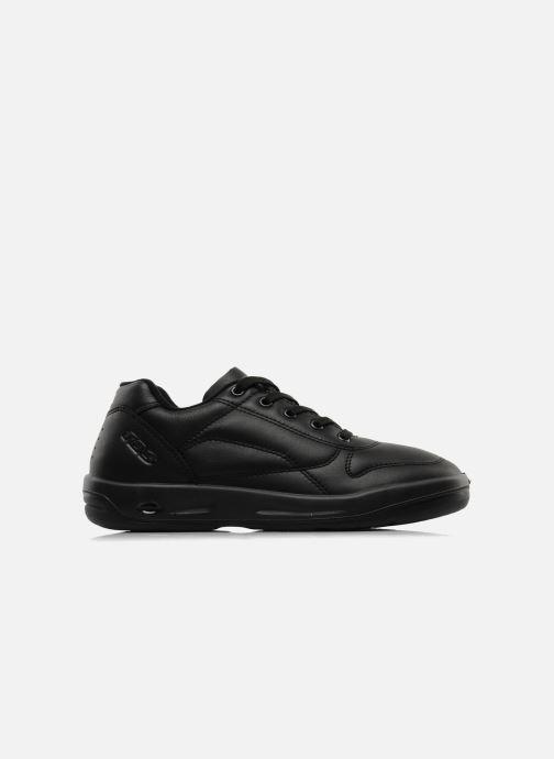 Sneaker TBS Made in France Albana schwarz ansicht von hinten
