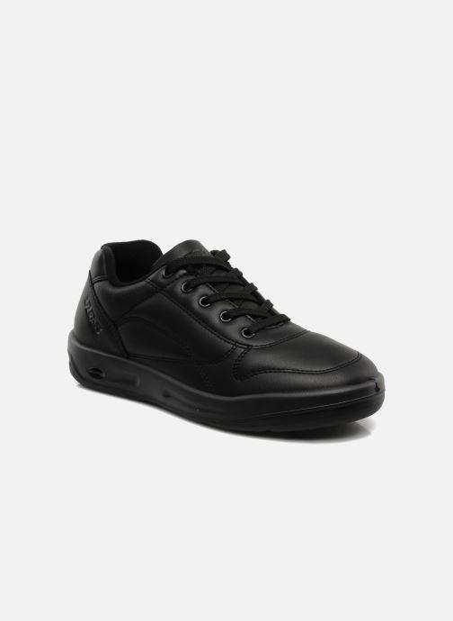 Sneakers TBS Made in France Albana Sort detaljeret billede af skoene