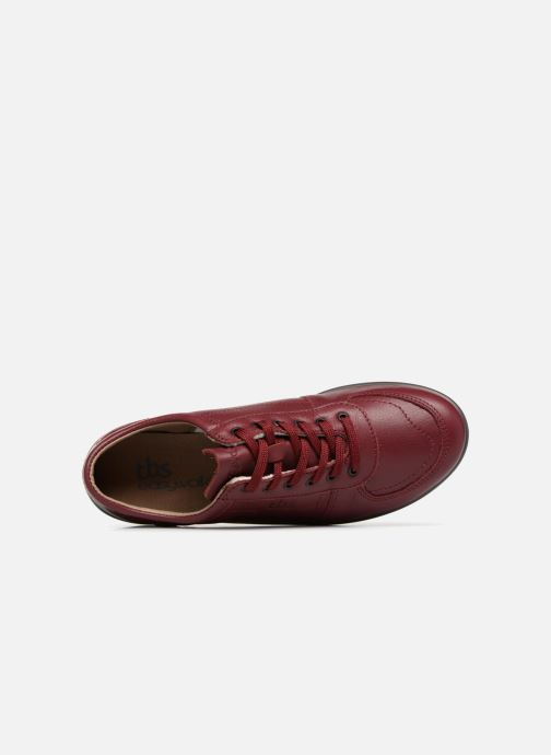 Sneakers TBS Easy Walk Astral Rosso immagine sinistra