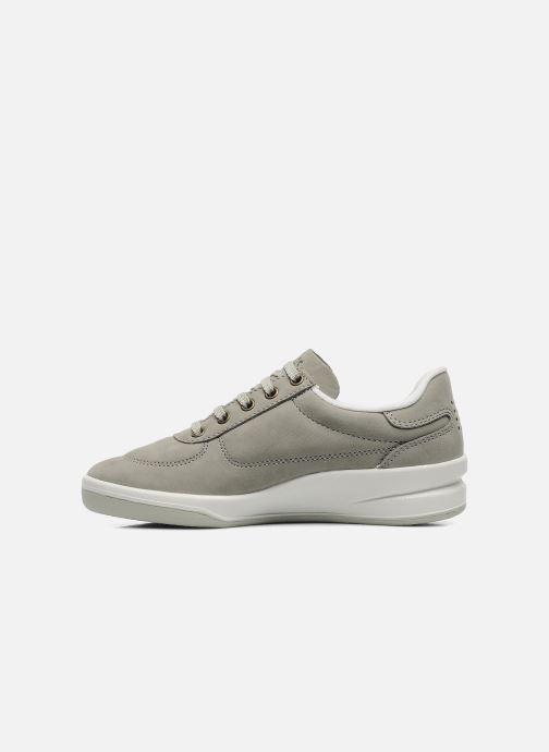 Sneaker TBS Easy Walk Brandy grau ansicht von vorne