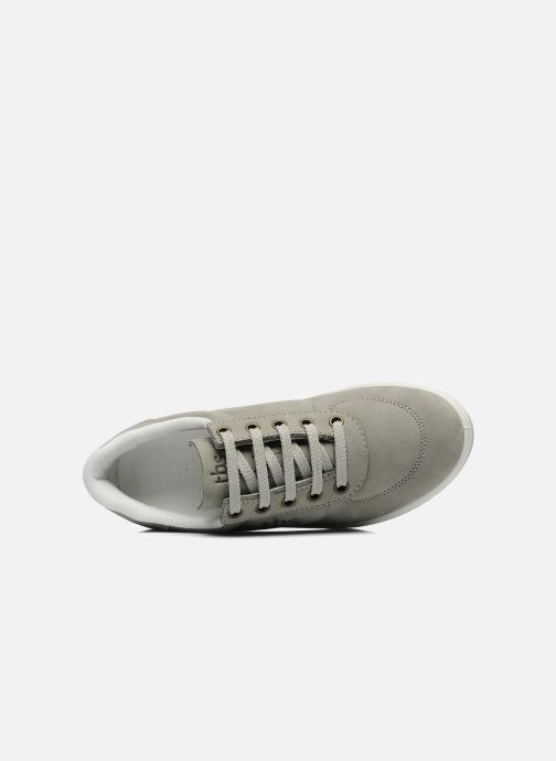 Deportivas TBS Made in France Brandy Gris vista lateral izquierda