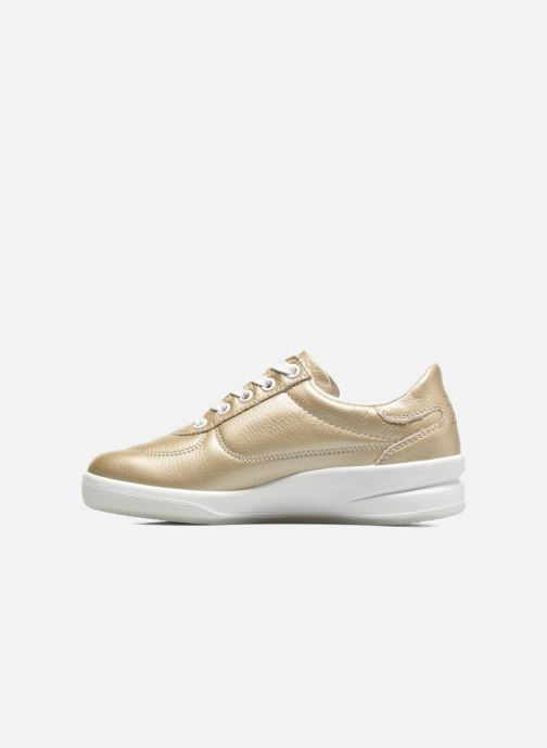 Sneakers TBS Made in France Brandy Oro e bronzo immagine frontale