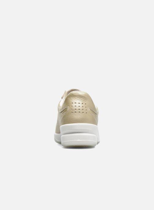 Sneakers TBS Made in France Brandy Oro e bronzo immagine destra