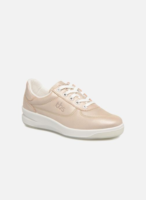 Baskets TBS Made in France Brandy Rose vue détail/paire