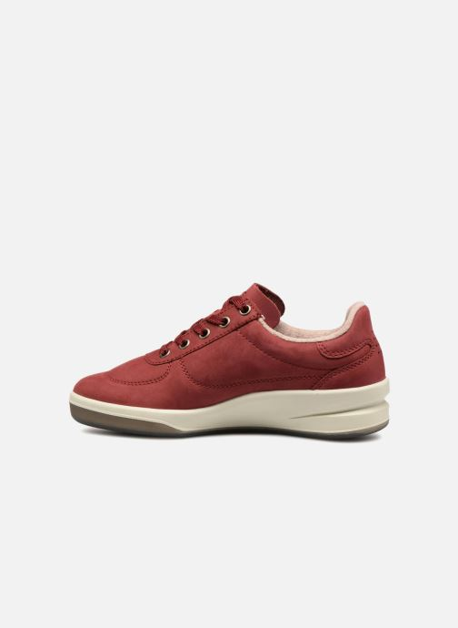 Sneakers TBS Made in France Brandy Bordò immagine frontale