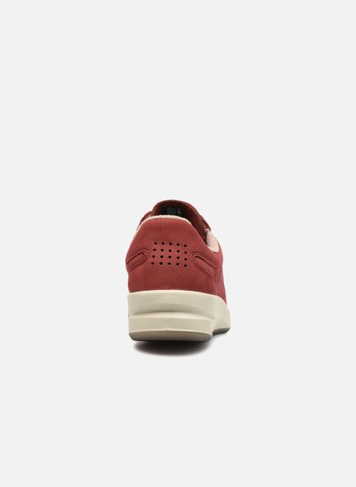 Sneakers TBS Made in France Brandy Bordò immagine destra