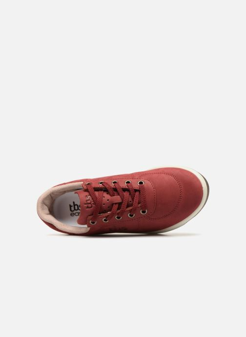 Sneakers TBS Made in France Brandy Bordò immagine sinistra
