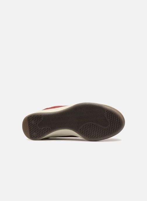 Sneaker TBS Made in France Brandy weinrot ansicht von oben