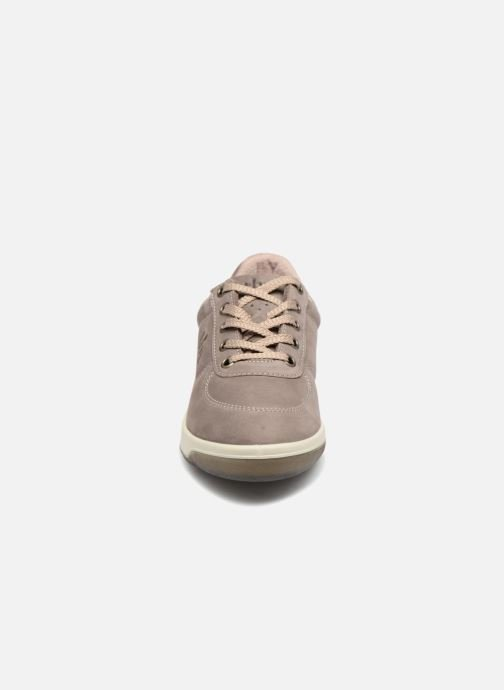 Baskets TBS Made in France Brandy Gris vue portées chaussures