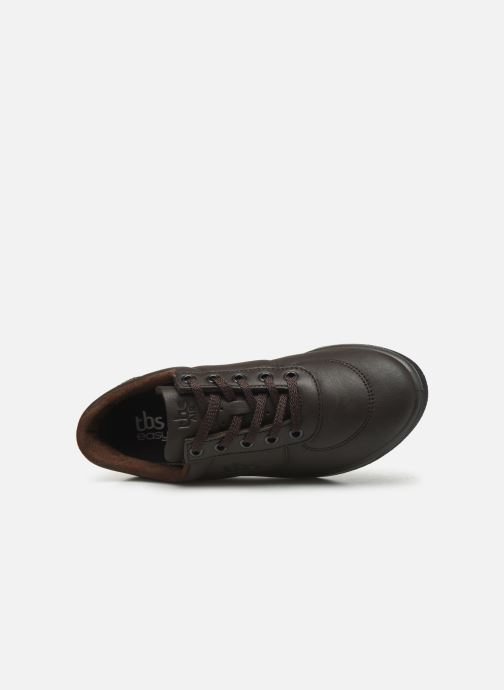 Sneakers TBS Made in France Brandy Marrone immagine sinistra