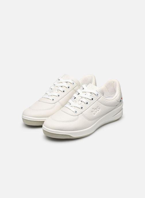 Sneaker TBS Made in France Brandy weiß ansicht von unten / tasche getragen