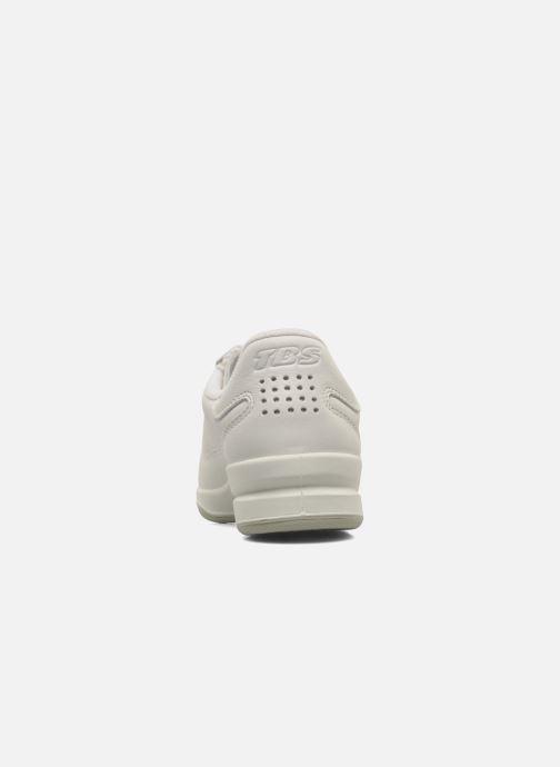 Sneaker TBS Made in France Brandy weiß ansicht von rechts