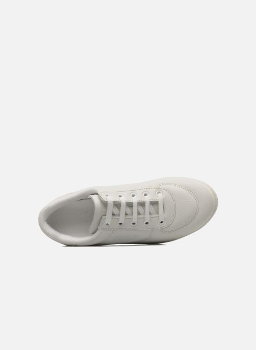 Sneakers TBS Made in France Brandy Bianco immagine sinistra