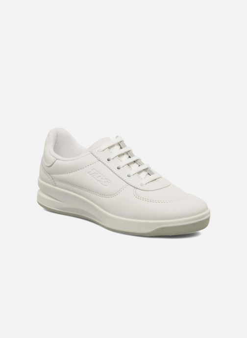 Baskets TBS Made in France Brandy Blanc vue détail/paire