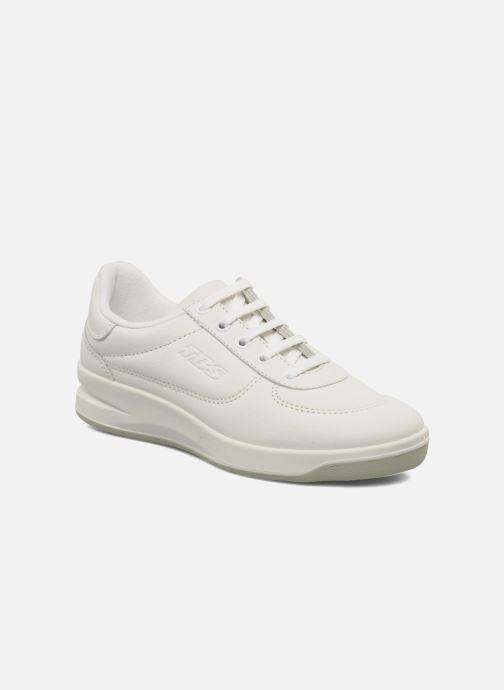 Sneakers TBS Made in France Brandy Hvid detaljeret billede af skoene