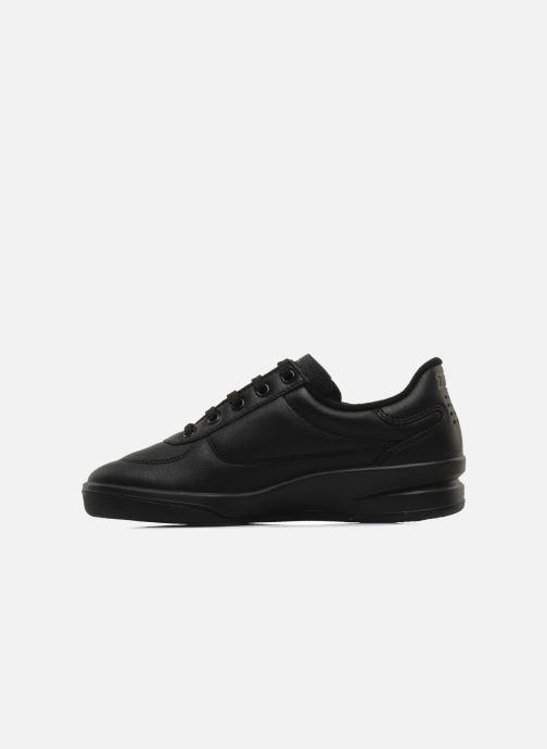 Sneaker TBS Made in France Brandy schwarz ansicht von vorne