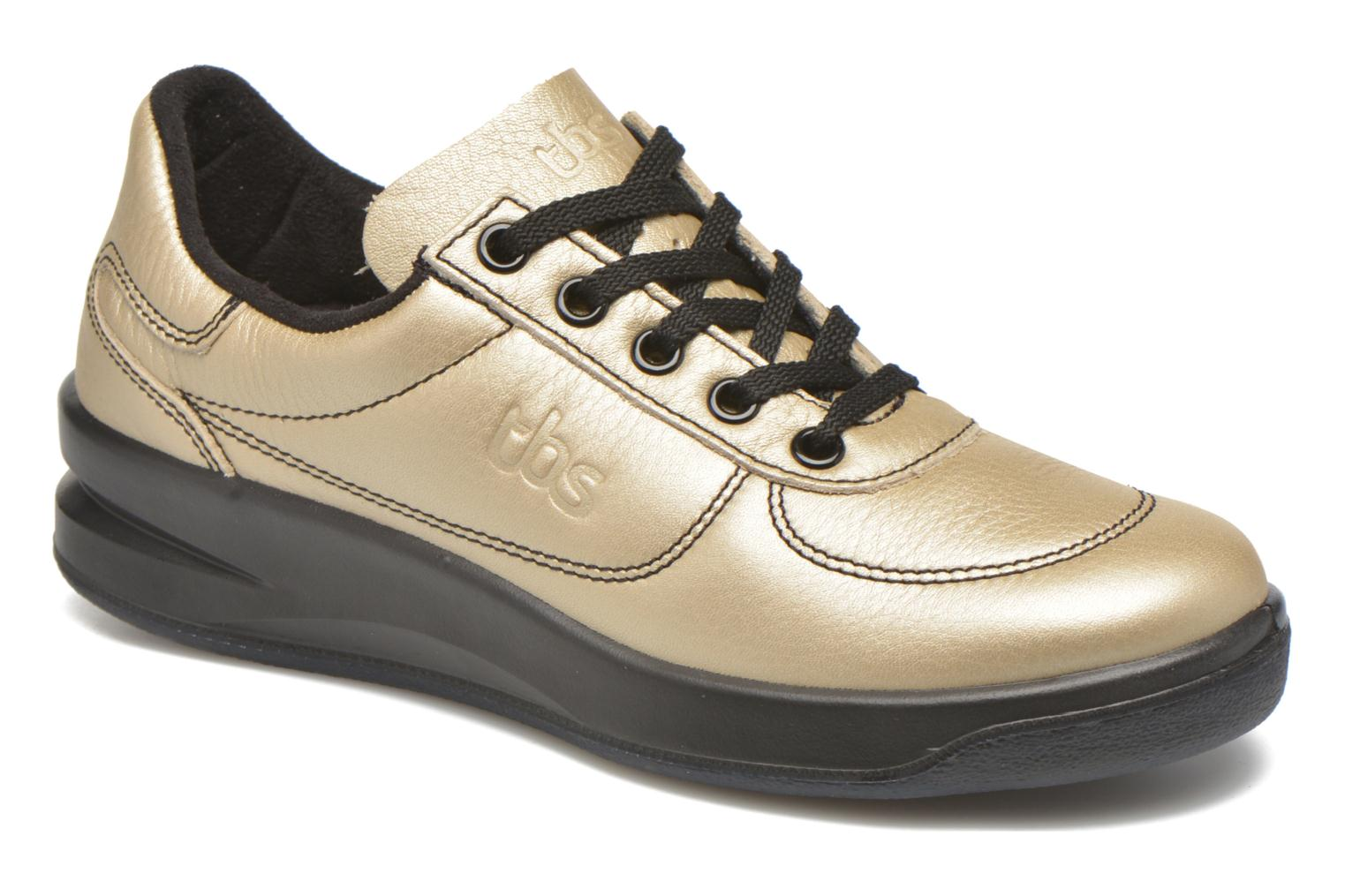 Trainers TBS Easy Walk Brandy Bronze and Gold detailed view/ Pair view