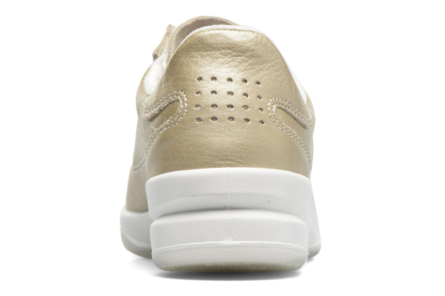 Trainers TBS Easy Walk Brandy Bronze and Gold view from the right