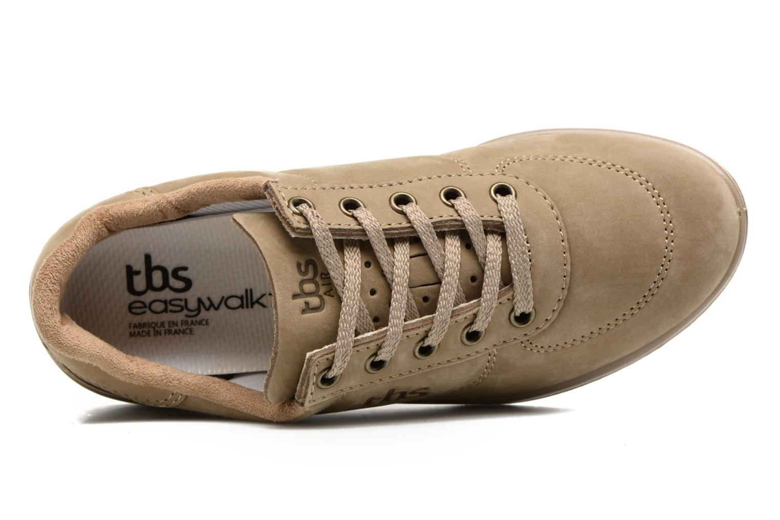 Trainers TBS Easy Walk Brandy Brown view from the left