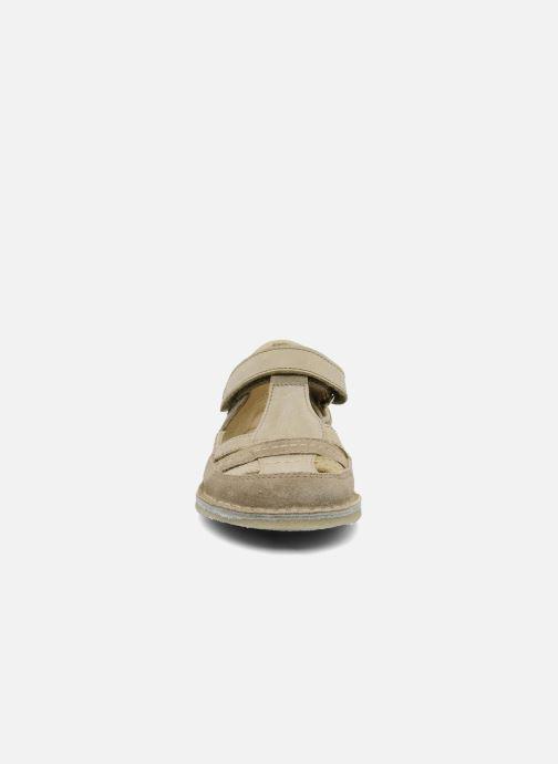 Sandales et nu-pieds Naturino Gloria Beige vue portées chaussures