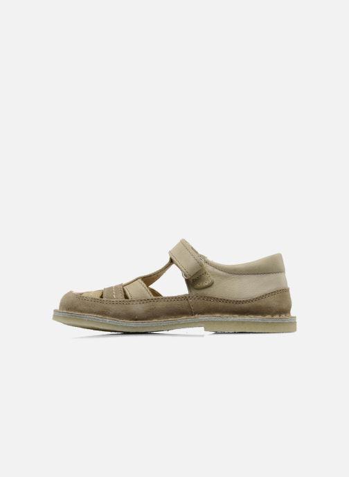 Sandales et nu-pieds Naturino Gloria Beige vue face