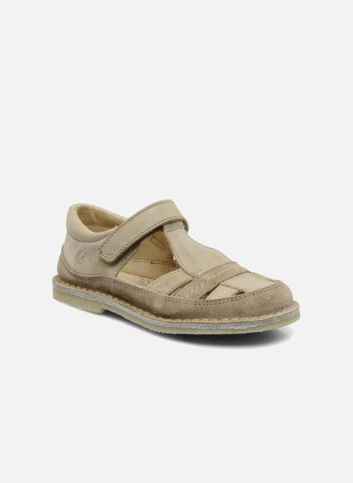 Sandales et nu-pieds Naturino Gloria Beige vue détail/paire