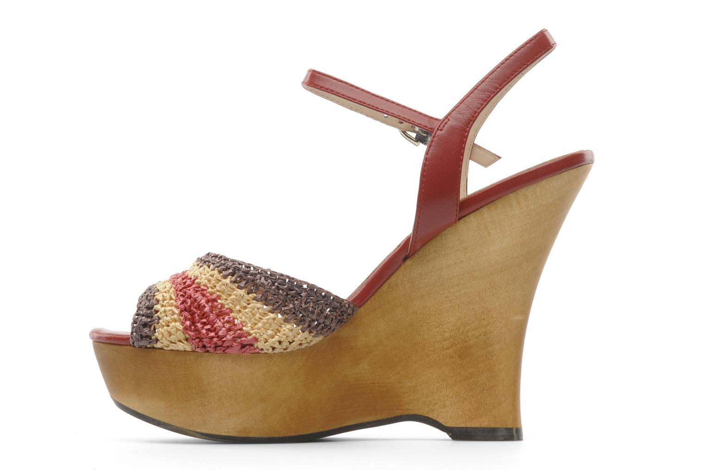 Sandales et nu-pieds L.K. Bennett MAC Multicolore vue face