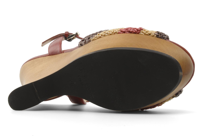 Sandales et nu-pieds L.K. Bennett MAC Multicolore vue haut